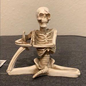 Yoga pose skeleton